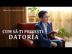 Personajul principal crede cu sinceritate în Dumnezeu și-și realizează datoria cu înflăcărare, dar gestionează lucrarea bisericii ca și cum ar fi propriul proiect. Când frați și surori din sfera lui trebuie să fie transferați la alte echipe, el își face griji cu privire la impactul pe care-l va avea asta asupra lucrării echipei sale și devine foarte potrivnic.  #Video_de_mărturie_creștină #Mărturia_unui_creștin  #marturie #Dumnezeu #povesti_adevarate #creștinism #credință_religioasă Christian Stories, Christian Films, Christian Life, Tagalog, Believe In God, True Stories, Documentaries, Teamwork, That Look