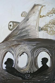 Bendix Harms Himmelhalt, 2006 Oil on canvas 82 5/8 x 55 inches Courtesy Anton Kern Gallery, New York