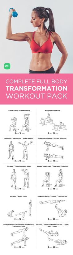 Complete Full Body Transformation Workout Pack ��visit https://workoutlabs.com/s/raejw to download!