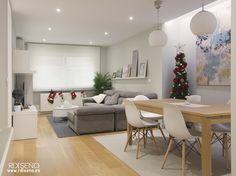 Reforma integral + interiorismo. Arganda. Madrid. - R Diseño Interiorismo y Decoración Madrid / tienda online de decoración de estilo nórdico