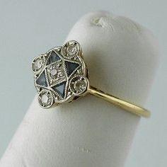 You are going to buy this? Vintage Jewelry Art Deco Sapphire Diamond Platinum Bracelet Art Deco diamond and sapphire engagement ring Art Deco Anel Art Deco, Art Deco Schmuck, Bijoux Art Nouveau, Art Deco Ring, Art Deco Jewelry, Jewelry Gifts, Jewelry Accessories, Fine Jewelry, Jewelry Design