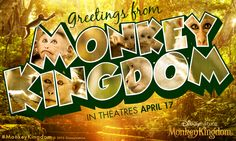 Plan your trip to visit #MonkeyKingdom. In theatres Friday.