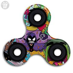 Teen-Titans-Go Spinner Fidget Toy Hand Spinner Toy EDC Helps Focus, Stress, Anxiety, Boredom - Fidget spinner (*Amazon Partner-Link)
