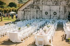 Cayucos Creek Barn Wedding By David Pascolla Photography  Read more - http://www.stylemepretty.com/california-weddings/2013/11/04/cayucos-creek-barn-wedding-by-david-pascolla-photography/