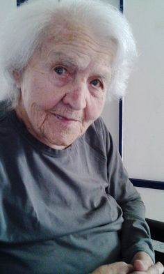 My grandmother, 101 years, Czech Republic