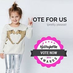 If you like what we do, then vote for us (pretty please) in the 2016 KidStyleFile Awards. The link to vote is on our homepage www.littlestyles.com.au #kidstylefileawards2016 @kidstylefile