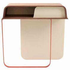 "Design Console ""Promenade"" by Eric Jourdan Deco Furniture, Table Furniture, Furniture Design, Kitchen Furniture, Furniture Ideas, Deco Design, Design Desk, Layout Design, Retail Fixtures"