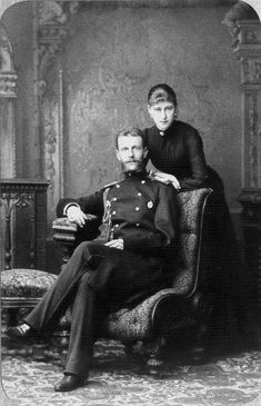 GD Elizabeth Feodorovna and GD Sergei Alexandrovich.