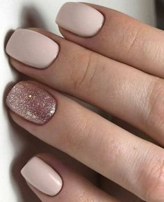 Elegant Nail Designs, Elegant Nails, Stylish Nails, Trendy Nails, Bridal Nails Designs, Bridal Nail Art, Hair And Nails, My Nails, Diy Nails Manicure