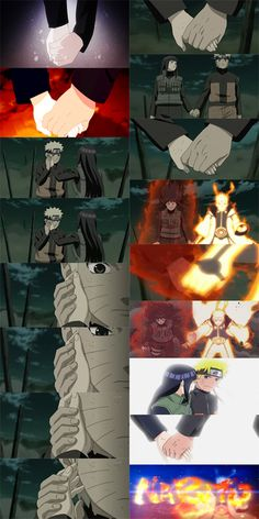 Naruhina - I think this may have been the moment when he truly realized his love for her, he couldn't deny it any longer.