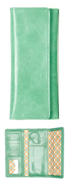 Awesome, minty-fresh wallet!