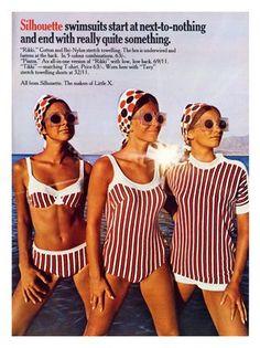 60S Swimwear | 1960s ads for women's swimsuits - Found in Mom's Basement