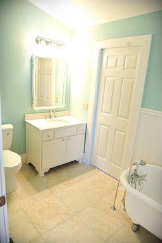 Perfect little bathroom!