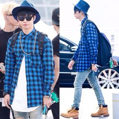 JB (Im Jae Bum) - Incheon airport 14.08.22