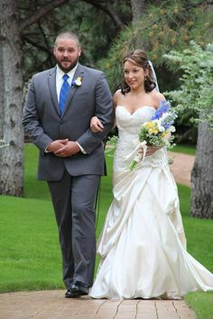 """Walking up to say """"I do"""""""
