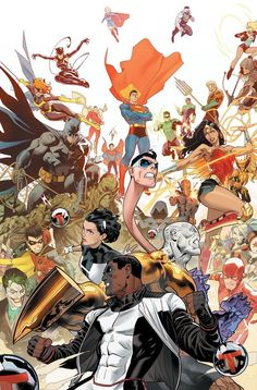 DC Comics is taking a page from Marvel's You Are Deadpool this February for the milestone issue of The Terrifics. Terrifics by Gene Luen Yang and Heroes Book, Dc Heroes, Midtown Comics, Mundo Comic, Comic Kunst, Dc Comics Art, Batman Comics, Dc Movies, Comics Universe