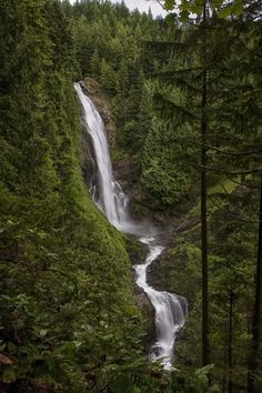 Wallace Falls State Park near Gold Bar, WA, is known for its many waterfalls, old-growth forests, fast-moving rivers, backcountry lakes and miles of trails. There's no doubt your guests will be completely blown away by all of the Northwest scenery here, including this 256-foot cascade.