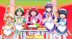 Buling, Retasu, Ichigo, Zakuro, and Minto