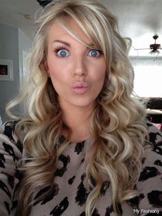 blonde with brown underneath wedding hair curled - Google Search