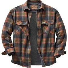Legendary Whitetails Men's Archer Thermal Lined Shirt Jacket Tobasco Plaid Medium Quilted sleeves Full poly-fill insulation for extra warmth Legendary® Signature Buck snaps and embroidery High quality construction and detail Imported Lined Flannel Shirt, Flannel Jacket, Mens Flannel Shirt, Shirt Jacket, Men Shirt, Rugged Style, Herren Outfit, Look Cool, Boy Fashion