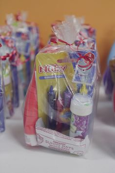 Don Send Your Friend Kids Home With Junk Here Are Some Ideas For Goody Bags A Two Year Old Birthday Party That Parent Approved