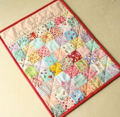 Another adorable doll quilt from amy's pattern