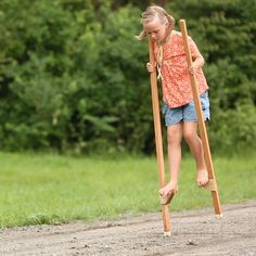 Wooden Stilts In Classic Toys – Nova Natural Toys & Crafts toys Sturdy stilts Backyard Play, Backyard For Kids, Backyard Games, Diy For Kids, Crafts For Kids, Outdoor Toys For Kids, Outdoor Games, Outdoor Play, Wooden Tree Swing