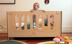 Update - Plyroom launches the all-in-one cot, toddler bed & desk