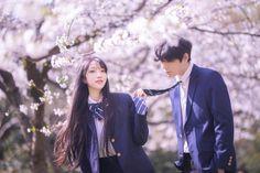 Korean Boys Ulzzang, Ulzzang Couple, Falling In Love Again, I Fall In Love, Love Couple, Couple Goals, Couples Cosplay, Korean Couple, I Still Love You