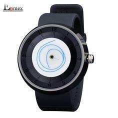 2017 men's gift Enmex men women creative  figure design wristwatch  breathe freely strap sports casual fashion quartz watches