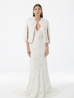Looking for your perfect wedding dress? Check out Amaline by Amaline Vitale. It is our Ready To Wear collection featuring stunning dresses made of luxe fabric. Fur Cape, Perfect Wedding Dress, Stunning Dresses, Formal Dresses, Wedding Dresses, Dress Making, Ready To Wear, Gowns, Bride