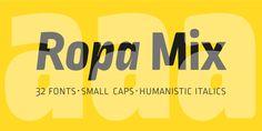 Ropa Mix Pro - Webfont & Desktop font « MyFonts