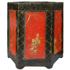 CHINESE BRUSH POTS | Early 20th Century Chinese Brush Pot at 1stdibs
