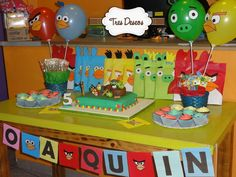 Mesa Dulce Angry Birds.