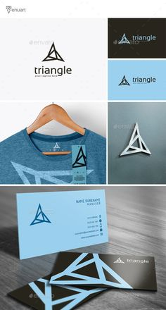 Triangle Logo Template PSD, Vector EPS, AI. Download here: http://graphicriver.net/item/triangle-logo/11902212?ref=ksioks