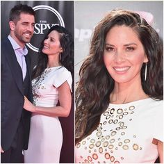 Gorgeous Olivia Munn wearing EF Collection diamond marquis drop earrings while in attendance at the ESPYS! 💜 Xo, EF