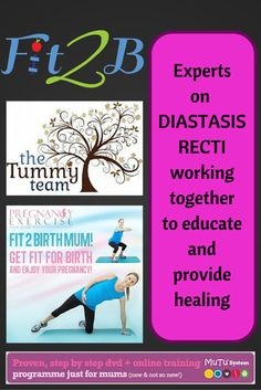 Experts on Diastasis Reci working together to educate and provide healing - Fit2b.us