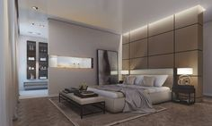 Modern & Luxurious Master Suite