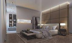 Modern & Luxurious Master Suite