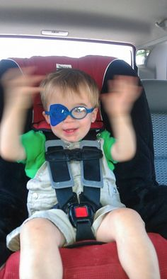 How to eye patch a toddler