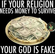 Mega churches who put on rock show type brainwashing events are not truth. They exist to swallow up innocents who can't get beyond fear. FEAR=False Evidence Appearing Real fed by brain washing cults