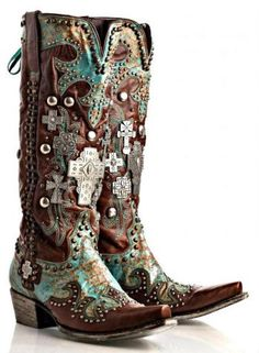 Boots/Sandals :: Boots :: OMG! LANE/DOUBLE D RANCH AMMUNITION BOOTS! TURQ - Native American Jewelry|Ladies Western Wear|Double D Ranch|Ladie...http://www.cowgirlkim.com/boots-sandals/cowgirl-boots/omg-lane-double-d-ranch-ammunition-boots-en.html