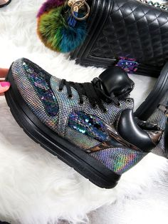 LU BOO HOLOGRAPHIC SNEAKERS SHOES SEQUINS WEDGE  http://elikshoe.pl/product-eng-431-LU-BOO-HOLOGRAPHIC-SNEAKERS-SHOES-SEQUINS-WEDGE.html  #elikshoe #ewelina_bednarz #kolekcjonerka_butow #shoes #buty