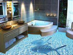 Chọn màu sắc phòng tắm đẹp cho người mệnh Mộc