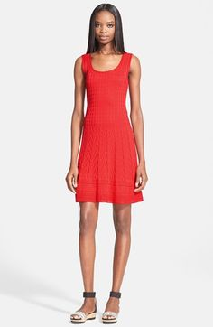 Free shipping and returns on M Missoni Scoop Neck Flared Knit Dress at Nordstrom.com. This everyday tank dress offers go-to ease thanks to a stretchy and intricately knit fabric and universally flattering A-line silhouette.