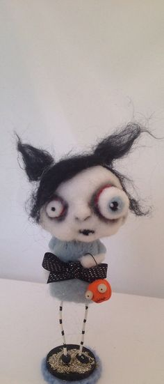 Zombie girl ooak Art doll on Etsy, $59.00