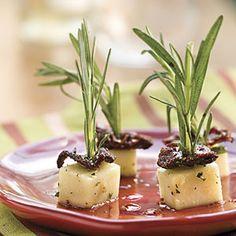 40 Party Appetizer Recipes | Marinated Mozzarella | SouthernLiving.com