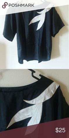 Silk vintage blouse Beautiful vintage top. jordana Tops Blouses