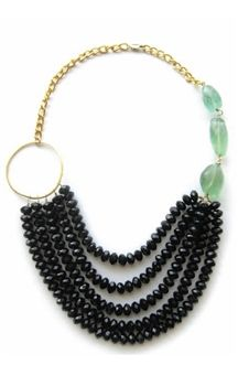 """Love this Hyla Dewitt Samantha Emerald Necklace.  All hand made in our home town of Raleigh, NC! """"LASH20"""" to get 20% off!  www.lashclothing.com"""