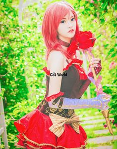 Love Live School Idol Project Nishikino Maki Flower Fairy Tube Tops Dress Uniform Outfit Anime Cosplay Costumes #SchoolOutfits Tube Top Dress, Anime Cosplay Costumes, Costume Accessories, School Outfits, Disney Characters, Fictional Characters, Idol, Aurora Sleeping Beauty, Tube Tops